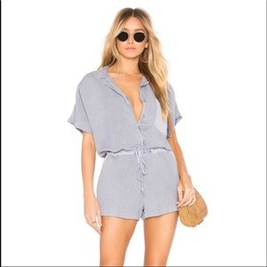 NWT young fabulous and broke linen romper small